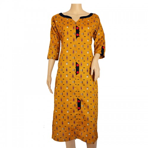 Cotton Kurti with Lining DN-0437
